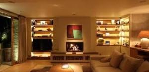 LED strips living room1